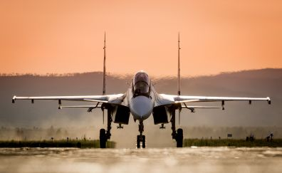 Sukhoi su-30, fighter plane, military