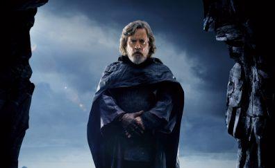 Luke skywalker, star wars: the last jedi, movie, 2017, 5k
