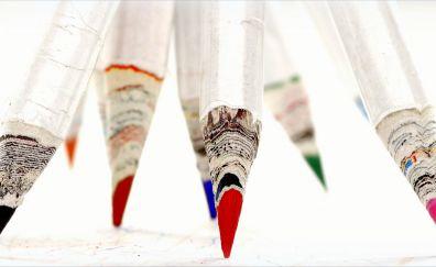 Pencil, stationary, sharp tip