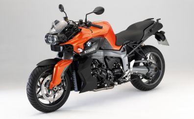 BMW K1300R, sports bike, 4k