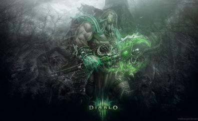 Diablo video game, warrior