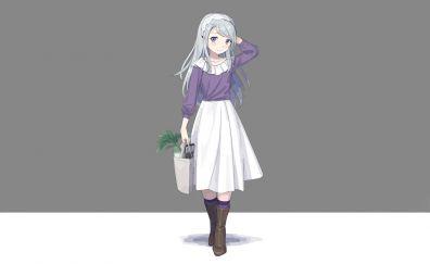 Sagiri, kancolle, cute anime girl, minimal