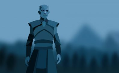 White walkers, game of thrones, tv series, minimal, art