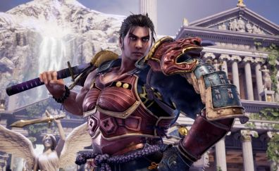 Soulcalibur 6, video game, warrior