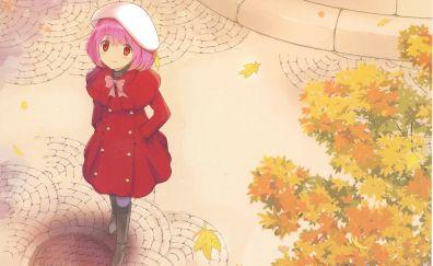 Ourdoor, Nakagawa kanon, anime girl, autumn