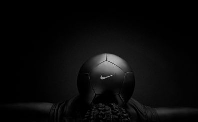 Nike, black, football, sports