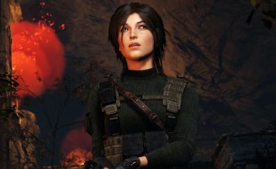 Rise of the tomb raider, warrior, woman