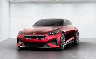 Kia Proceed Concept, 2017, frankfurt motor show, 4k