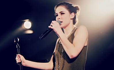 Lena Meyer-Landrut, singer, live performance, 4k