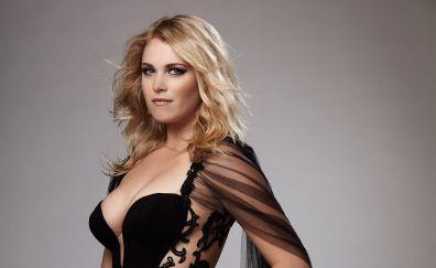 Eliza Taylor, Australian beauty, black dress, celebrity