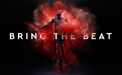 Usain Bolt, athlete, celebrity, jump