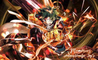Izuku Midoriya, anime boy, anime