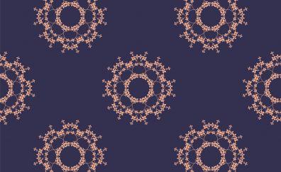Floral pattern, mandala, abstract