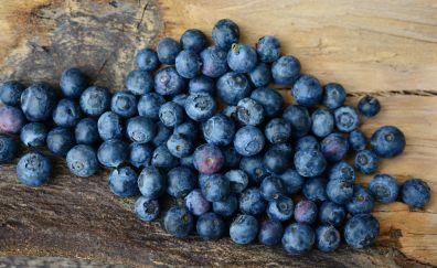 Blueberries, blue fruits