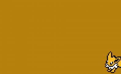 Pokemon, pixel artwork, minimal