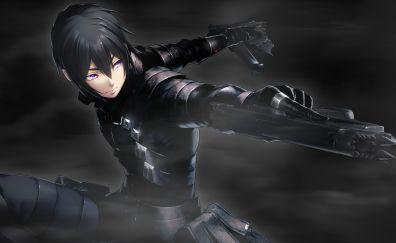 Anime boy, game, dark, tokyo necro