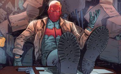 Red hood, batman, dc comics