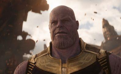 Thanos, supervillain, avengers: infinity war, 2018 movie