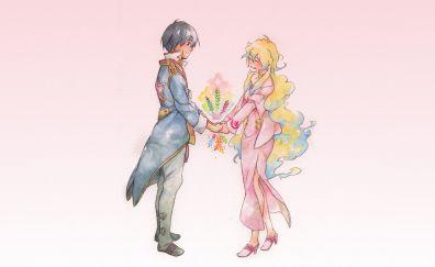 Anime couple, Tengen Toppa Gurren Lagann, anime