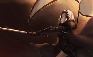 Alter, Fate series, sword, Jeanne d'Arc