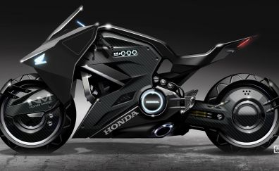 Honda NM4 Vultus, special ghost in the shell bike