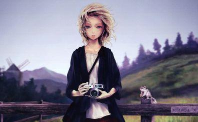 Leica Camera, anime girl