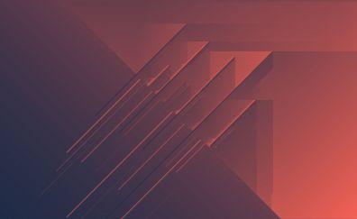 Abstract, minimalism, stripes, pattern, 4k