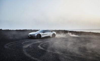 Bmw i8 coupe, 2018 car, 4k