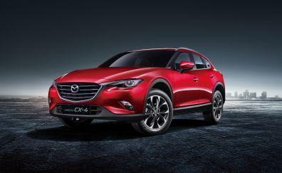 Mazda CX-4, 2017 car, 4k
