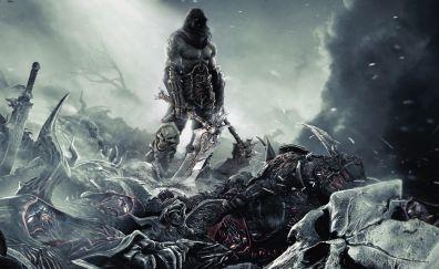 Darksiders II, warrior, game, dark