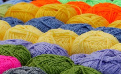 A ball of yarn, woolen