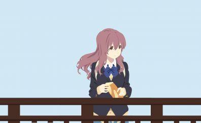 Cute anime girl, anime, Ryūko Matoi, minimal