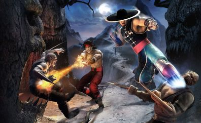 Mortal kombat, video game, fighters