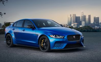 2018 Jaguar XE SV Project 8, luxury car, 4k