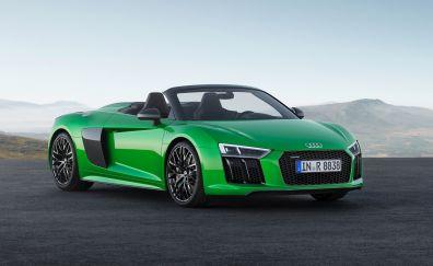 Convertible, sports car, Audi R8, luxurious