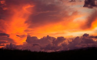 Clouds in Sky photography