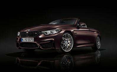 BMW M4 brown 2018 car