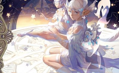 Dragon Nest, anime girls with wings
