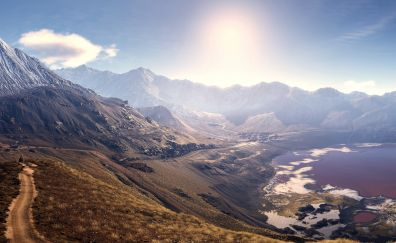 Tom Clancy's Ghost Recon: Wildlands video game, mountains