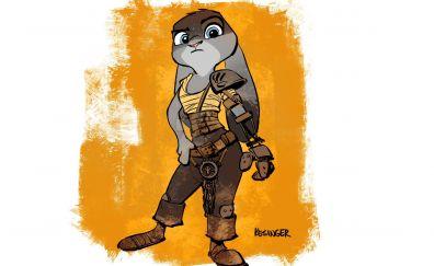 Judy hopps, rabbit, zootopia movie