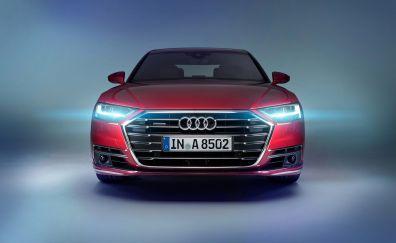 Audi A8 L 3.0 TDI quattro, front, 4k