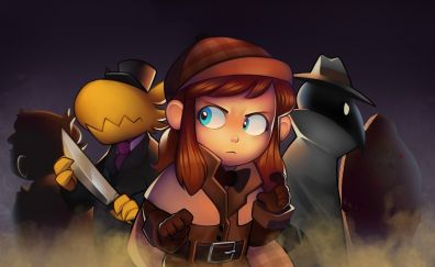 A hat in time, hat girl, spy