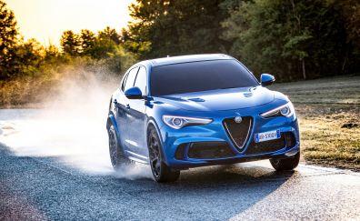 Alfa Romeo Stelvio Quadrifoglio, 2018 car, 4k