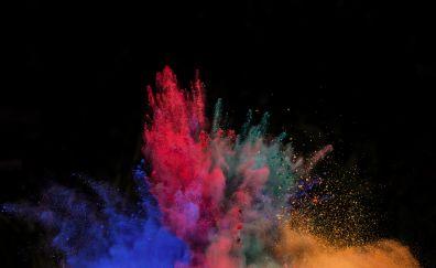 Color's blast, colorful, powder