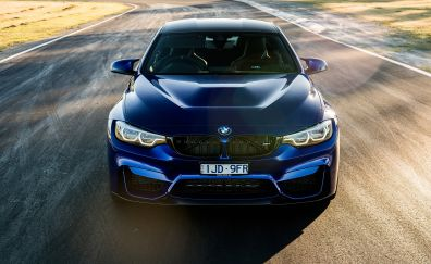 2018 bmw m4, front, luxury car