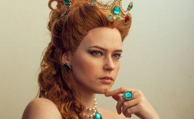 Anna Henrietta, The Witcher 3: wild hunt, model, red head, cosplay