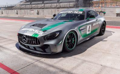 Mercedes-AMG GT4 C190, 2017 car, 4k
