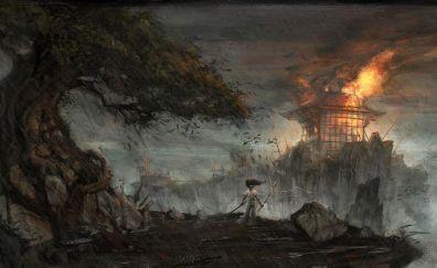 Afro Samurai: Resurrection, warrior, anime