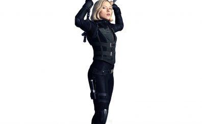 Avengers: infinity war, black widow, scarlett johansson