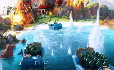 Boom Beach, Online game, video game